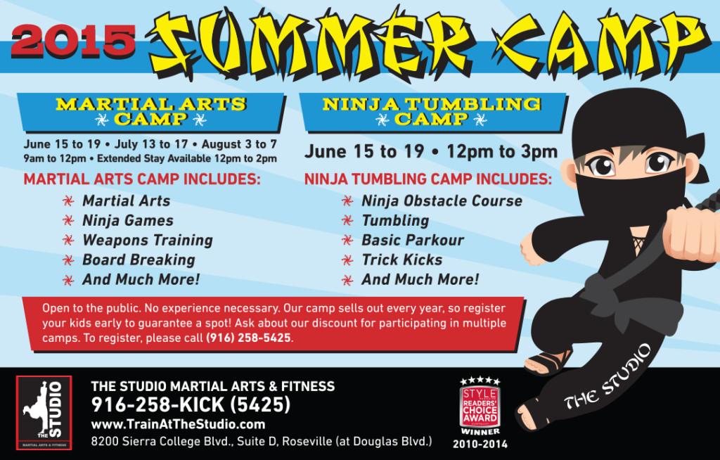 summer camp ninja