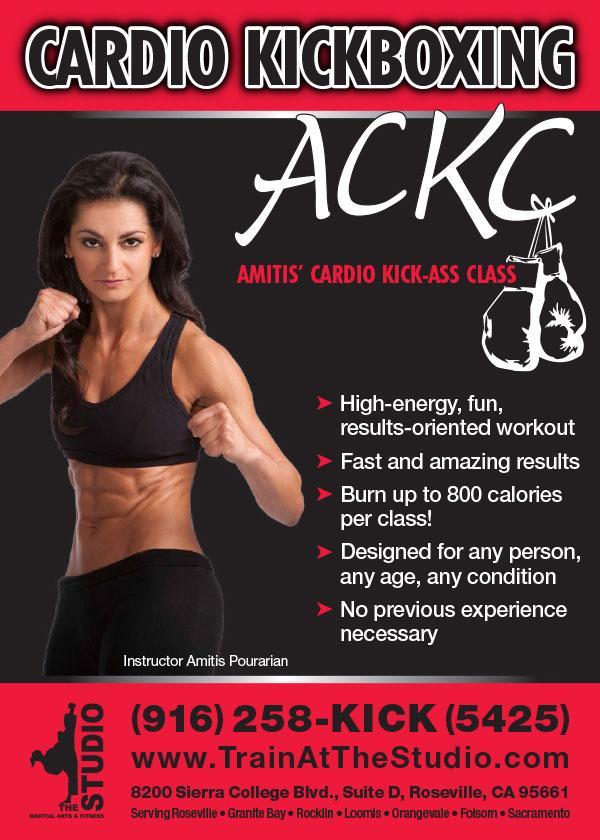 ACKC Cardio Kickboxing Classes Roseville