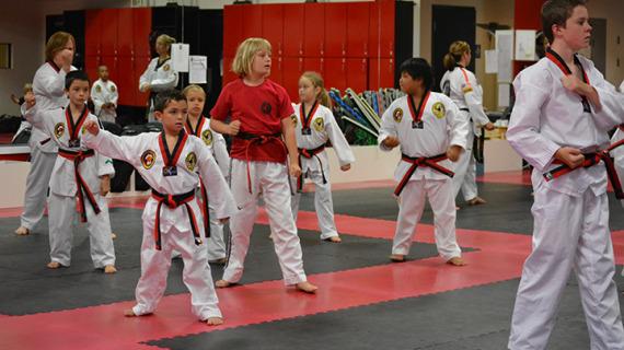 kids and family taekwondo