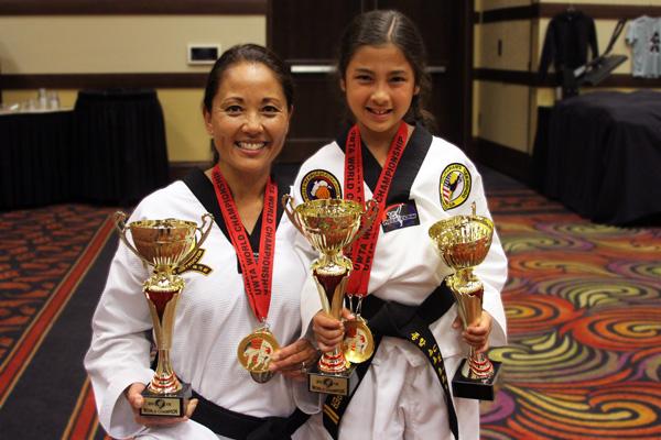 family taekwondo competition