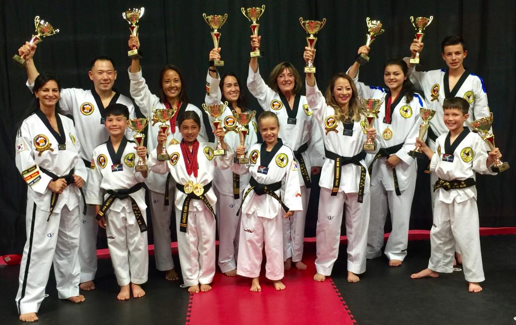 UWTA 2015 Taekwondo Champions