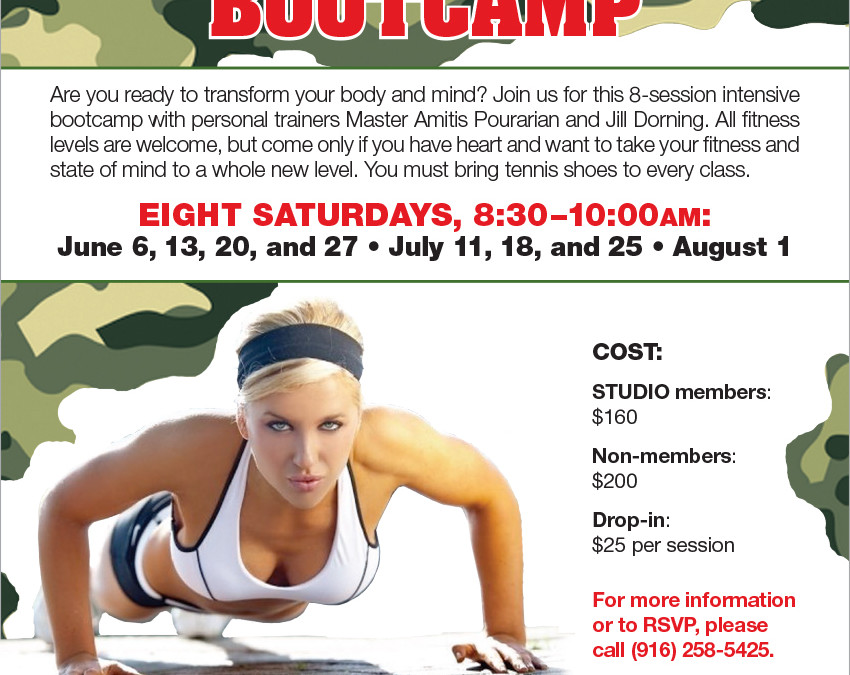 June 6–August 1: Indoor/Outdoor Transformation Bootcamp