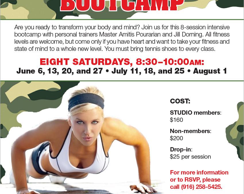 June 6–August 1: Indoor/Outdoor Transformation Bootcamp