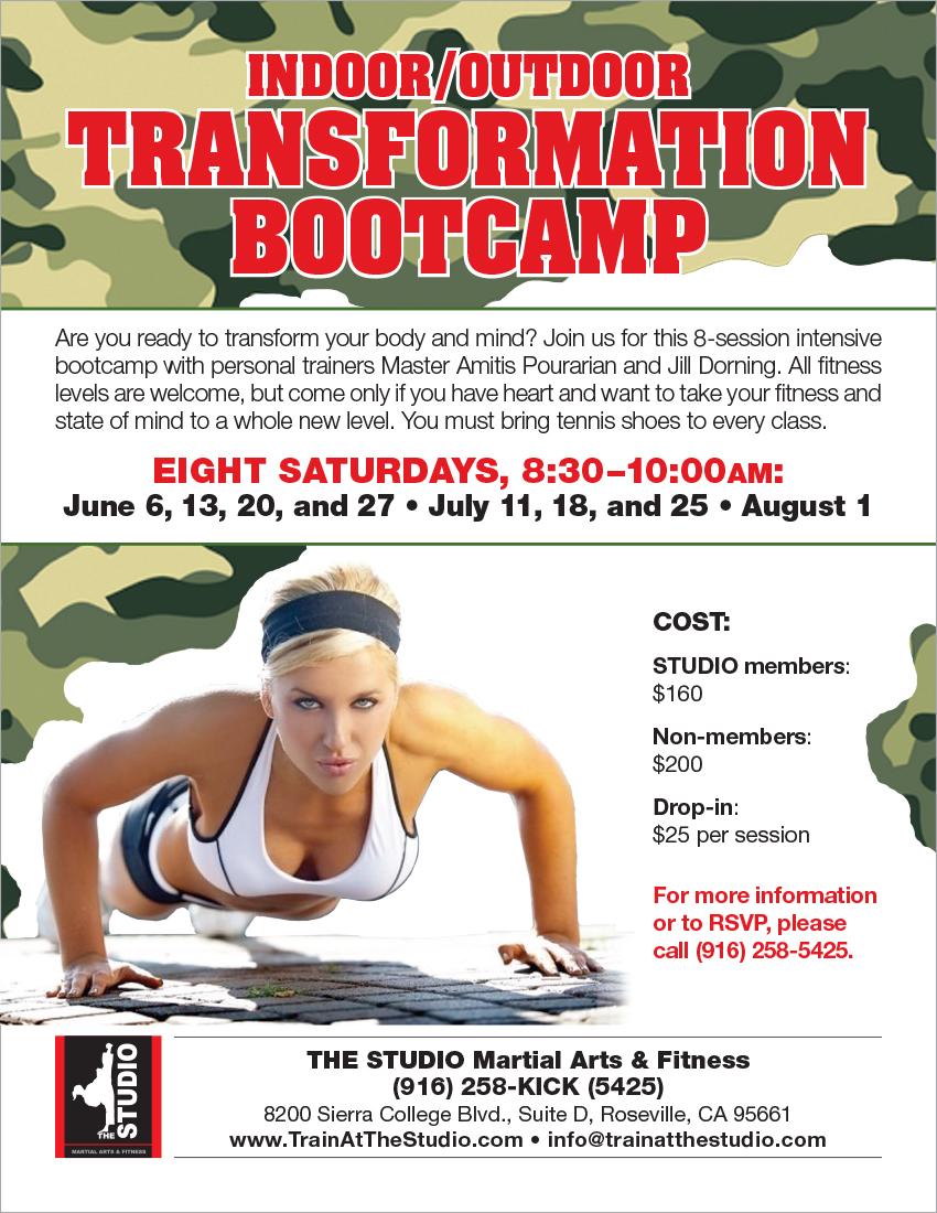 June 6 August 1 Indoor Outdoor Transformation Bootcamp