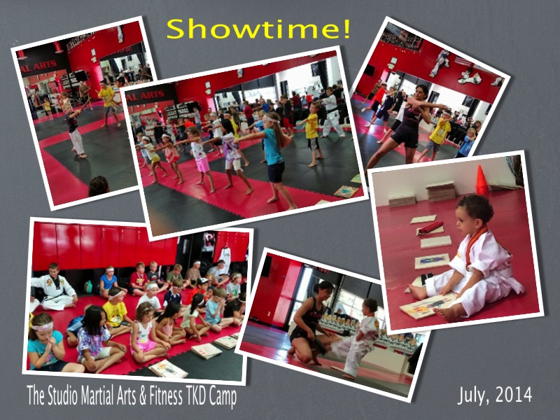 Martial Arts Summer Camp at THE STUDIO, July 28 to August 1