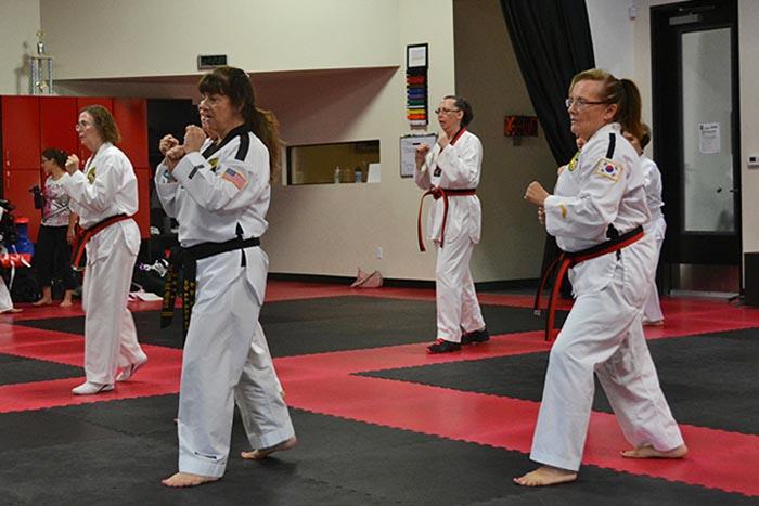 non-contact martial arts class