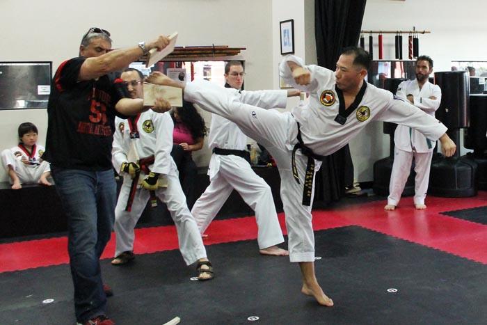 BAD mens taekwondo class