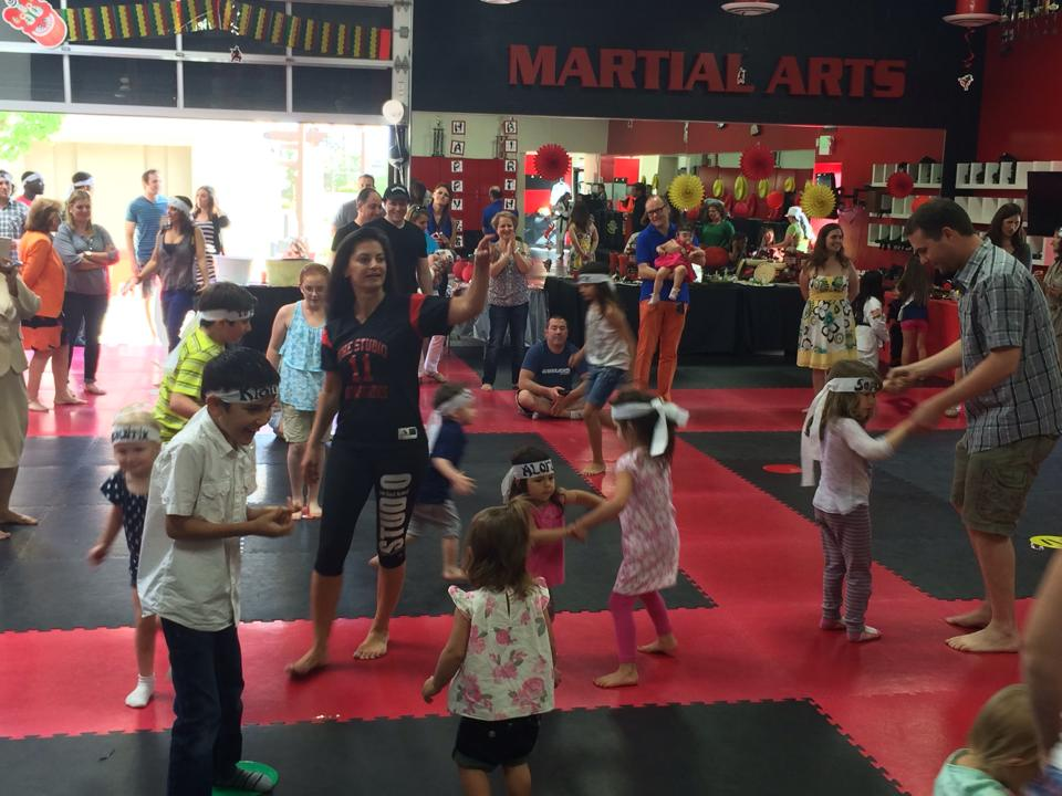 kids ninja party in roseville