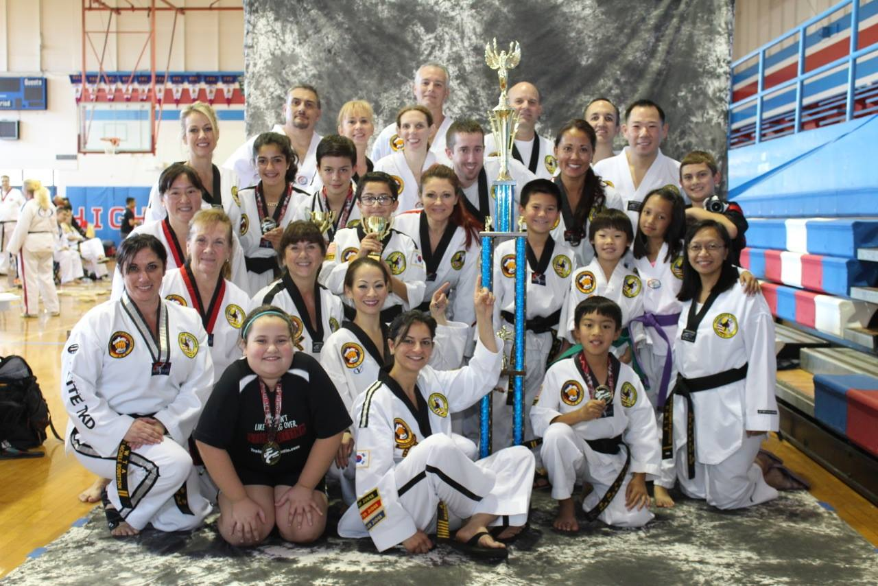 The Studio Team At The Uwta Poomsae And Board Breaking