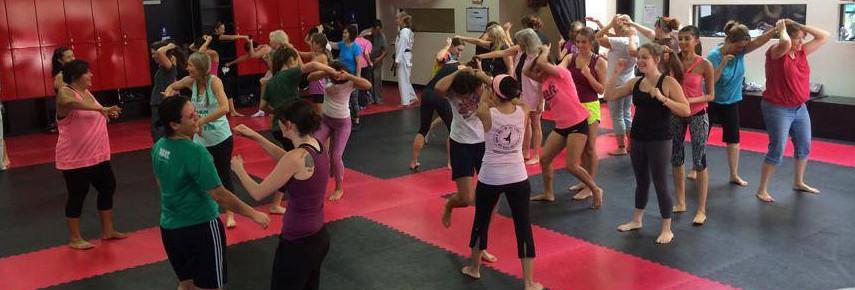 Women's Self Defense Workshop, August 16, 2014