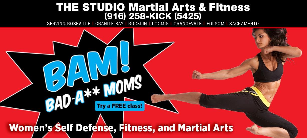 bam women's taekwondo class