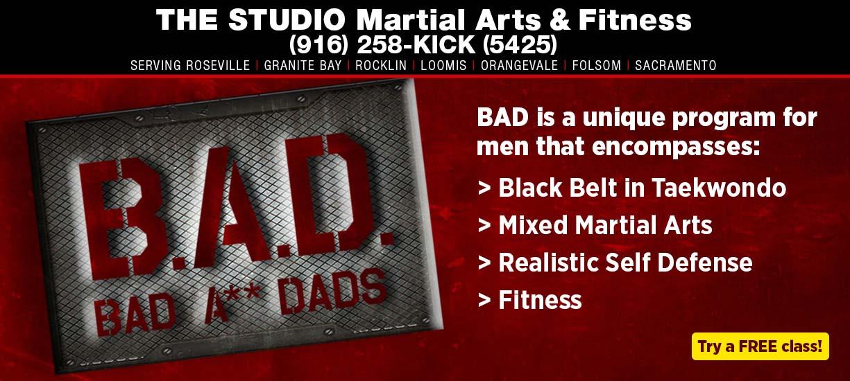 BAD bad a** dads adult taekwondo