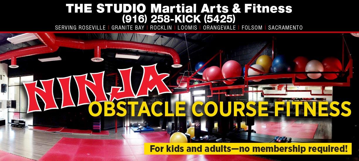 indoor ninja obstacle course