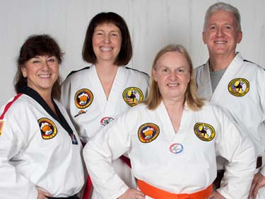 non-contact taekwondo class for seniors