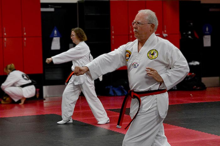 martial arts for senior