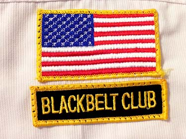 TKD black belt