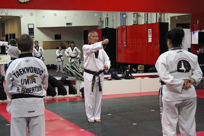 black belt poomsae