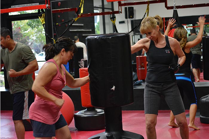 cardio kickboxing classes roseville studio