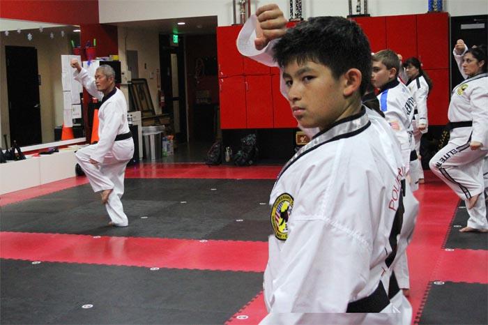 elite taekwondo poomsae class