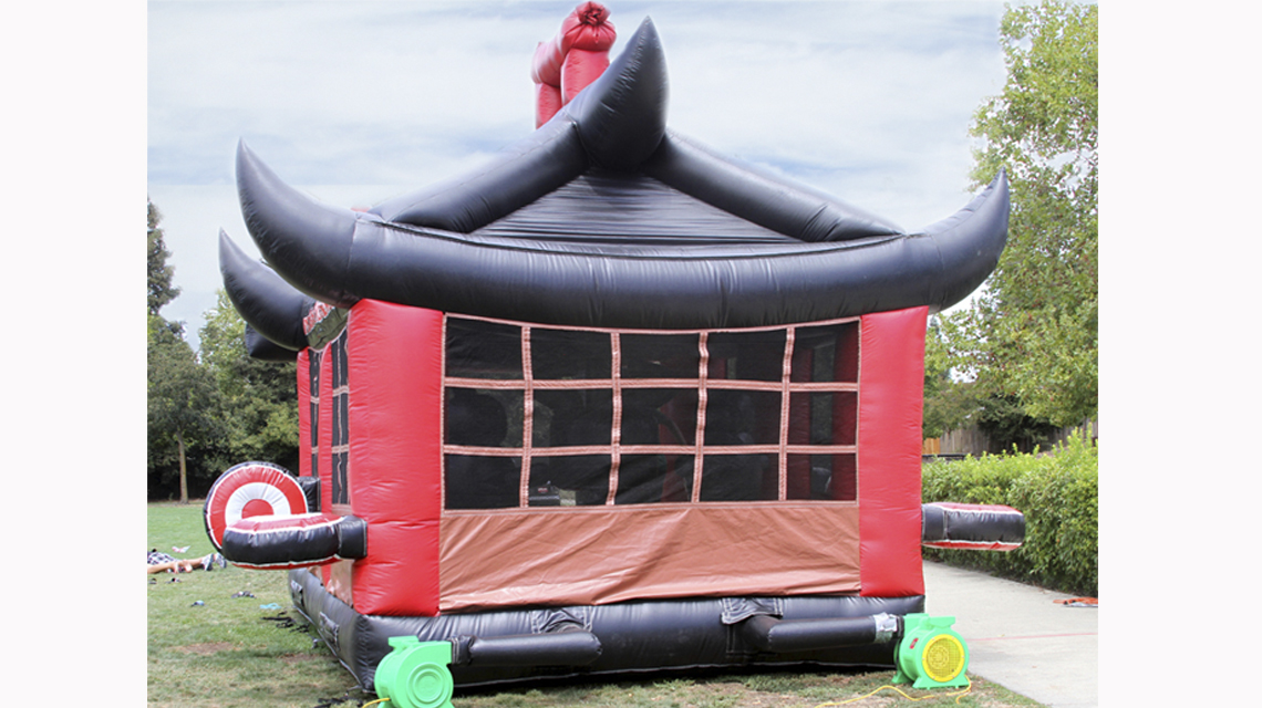 ninja bounce house rental