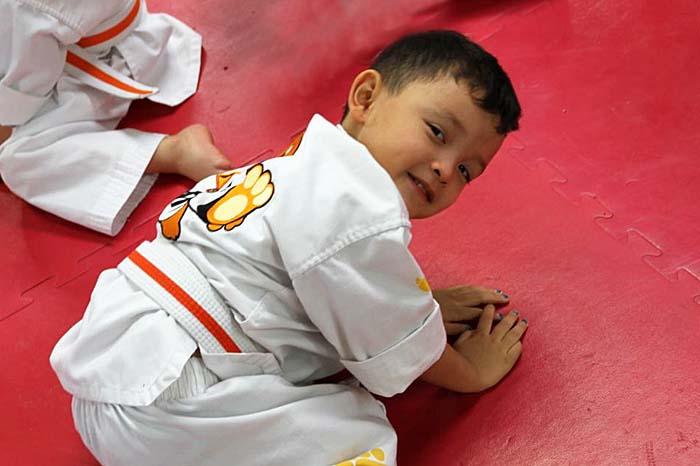 tiny tigers kids martial arts class