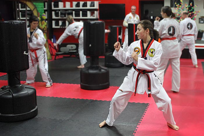 womens martial arts roseville studio