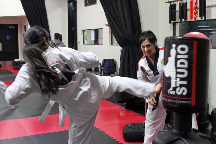 womens taekwondo classes roseville studio