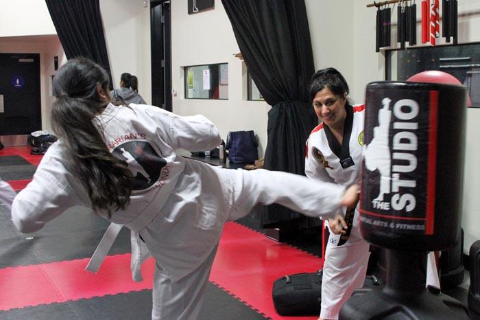 womens taekwondo classes roseville studio