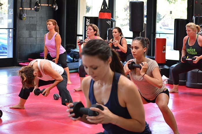 workout fitness class
