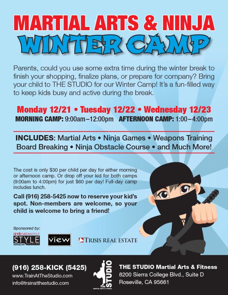 Dec 2123  Kids  39  Martial Arts   Ninja Winter Camp   THE