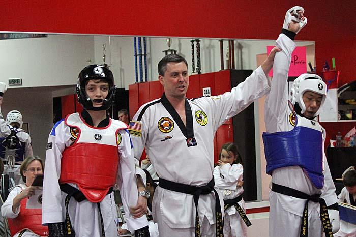 fight night taekwondo sparring