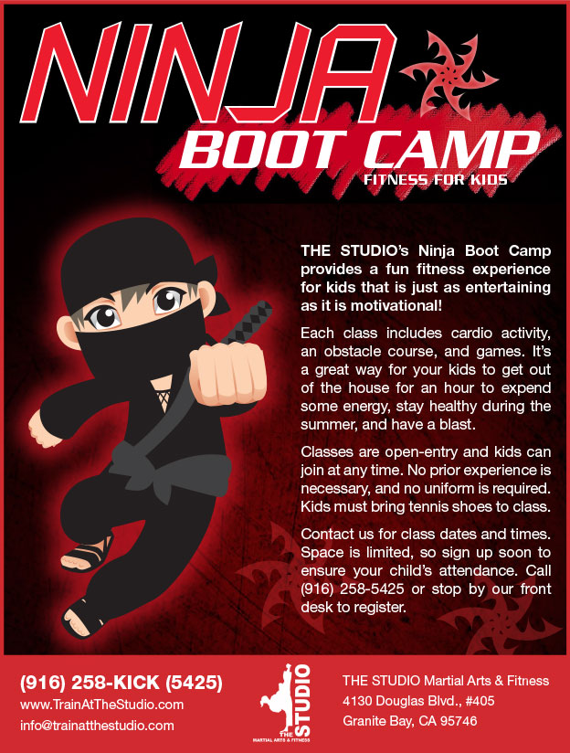 Ninja Boot Camp (Kids' Fitness)