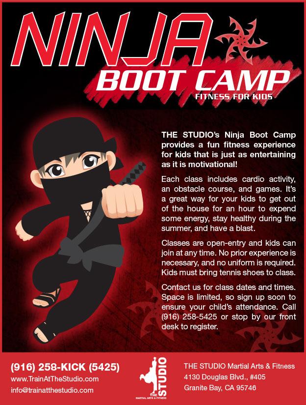 Ninja Boot Camp (Kids' Fitness)