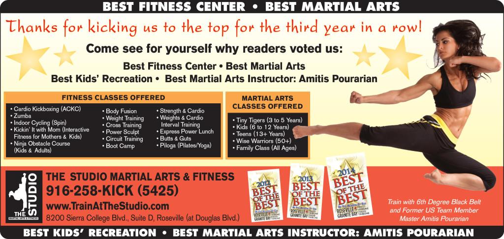 best martial arts studio