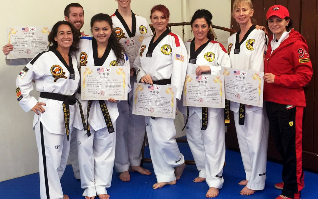 Congratulations to our newest certified instructors!