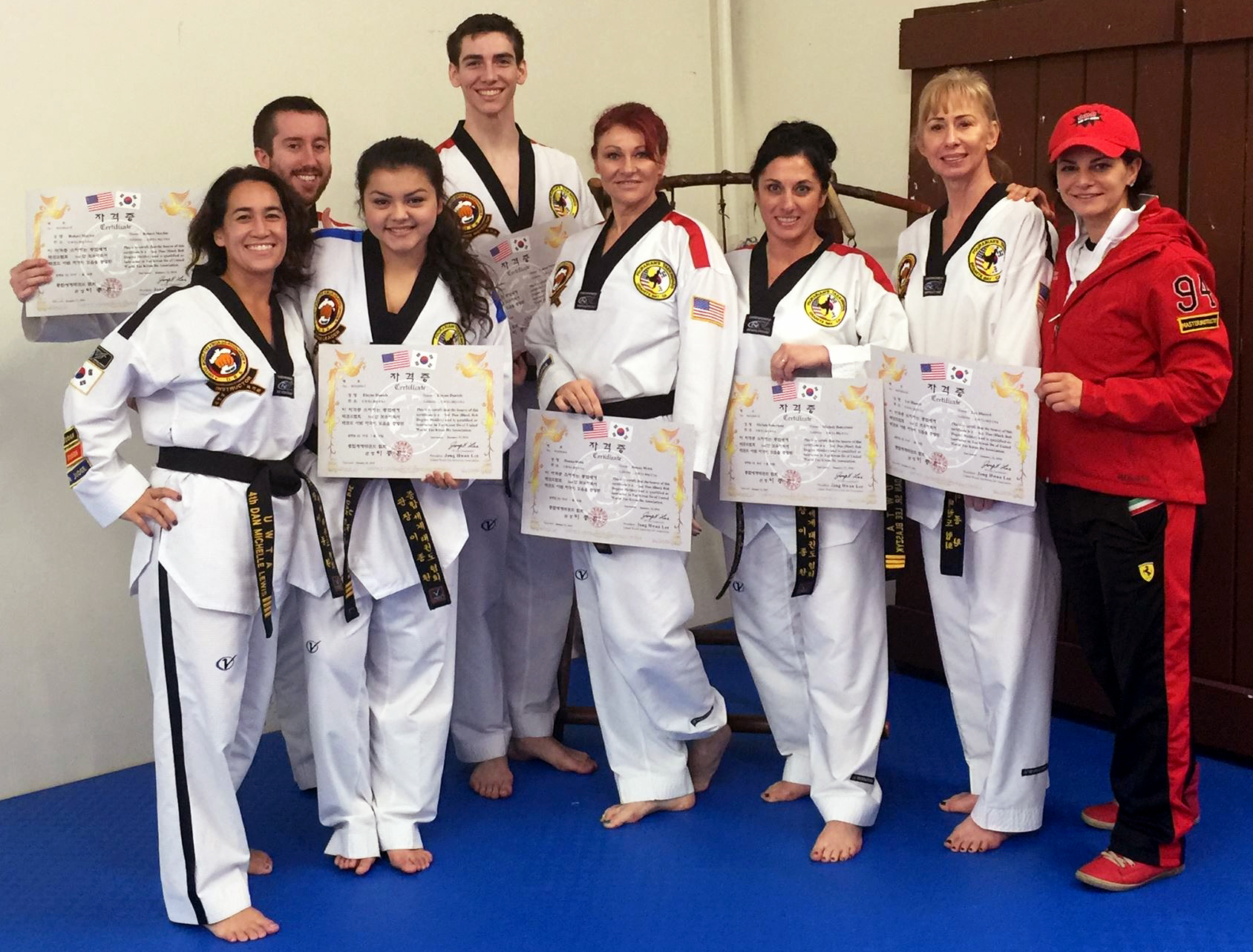 Congratulations To Our Newest Certified Instructors The
