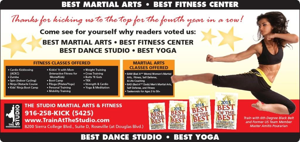 best martial arts studio roseville granite bay