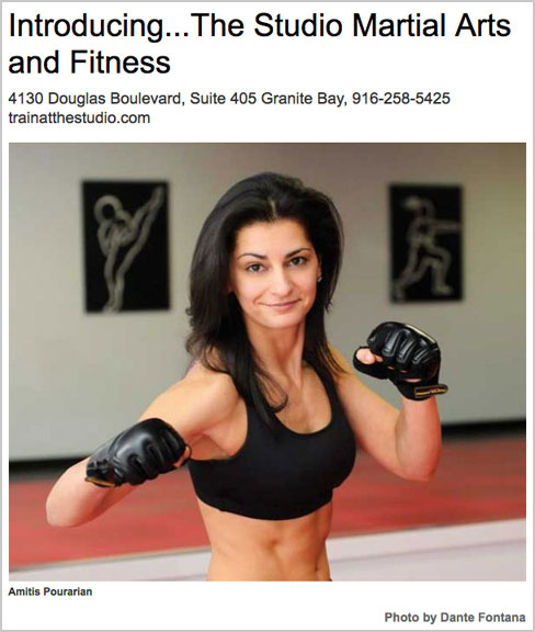 Introducing...The Studio Martial Arts and Fitness