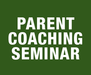 March 17: TKD Parent Coaching Seminar