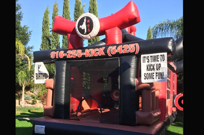roseville bounce house rental for birthday parties
