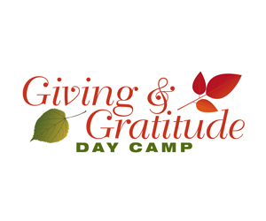 Thanksgiving Week: Kids' Giving & Gratitude Day Camp