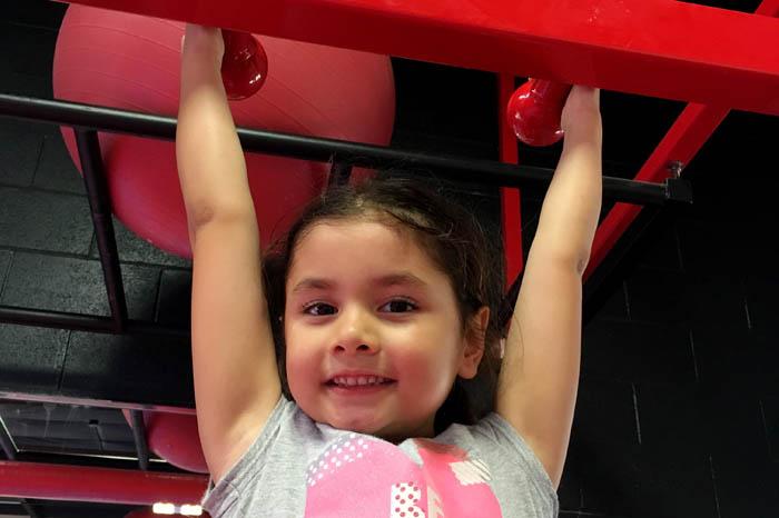fitness class preschoolers