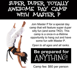 July 12: Super Duper Totally Awesome Day Camp with Master P