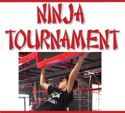 Sept. 9: Ninja Tournament