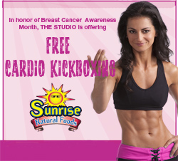 Oct. 14: Think Pink with Free Cardio Kickboxing