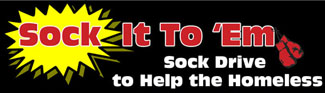 Nov. 1: Sock Drive Begins