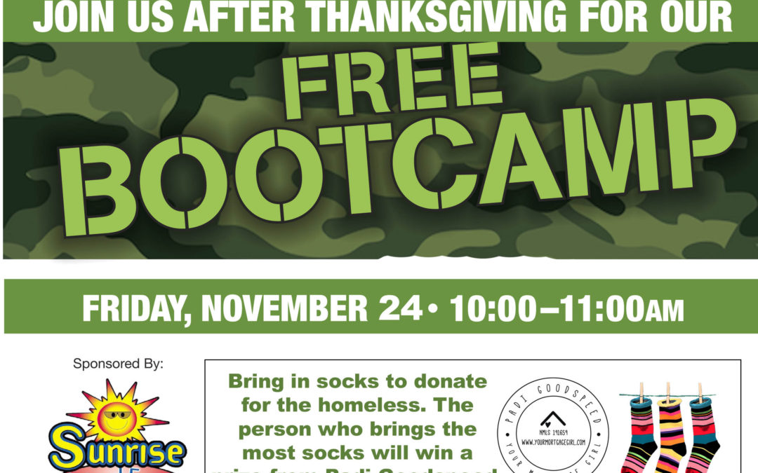 Nov. 24: Free Post-Thanksgiving Workout