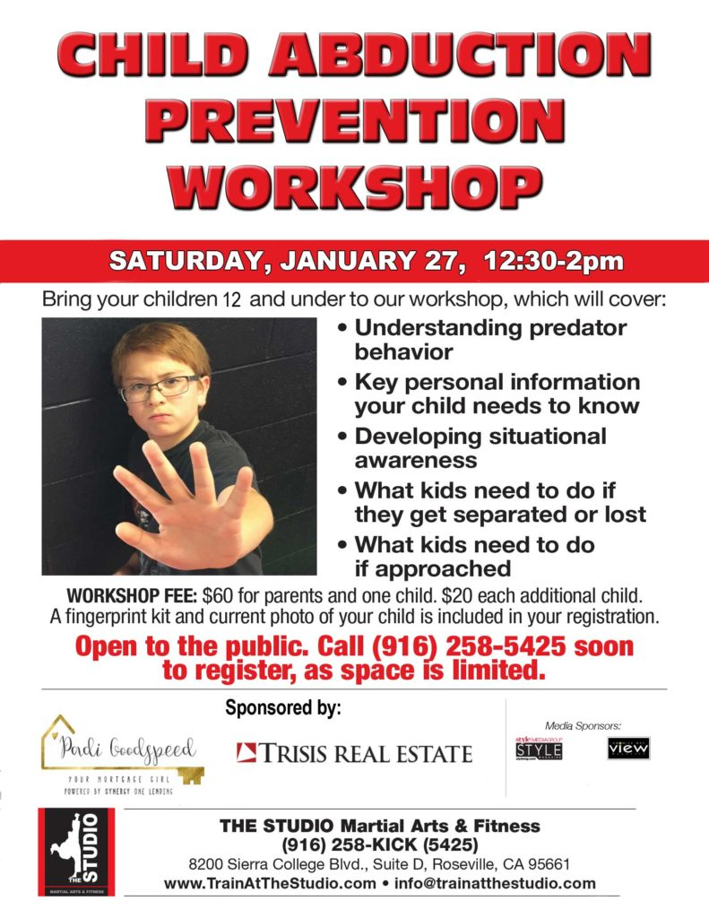 child abdution prevention workshop jan 2018