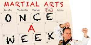 Coming in January: Once-a-Week Martial Arts