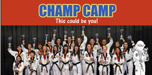 Starting Jan. 19: Champ Camp